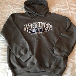 Wrestling Sister hoodie new without tags